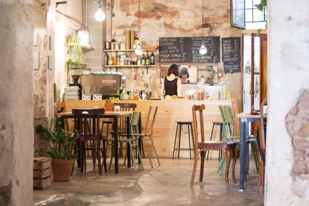 Best coffee shops Barcelona Espai Joliu