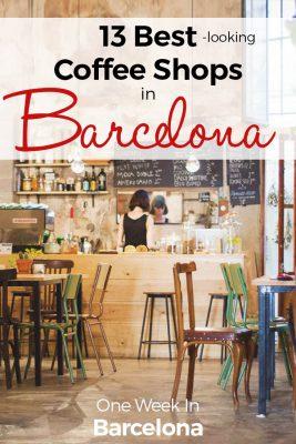 Best coffee shops Barcelona - ultimate List