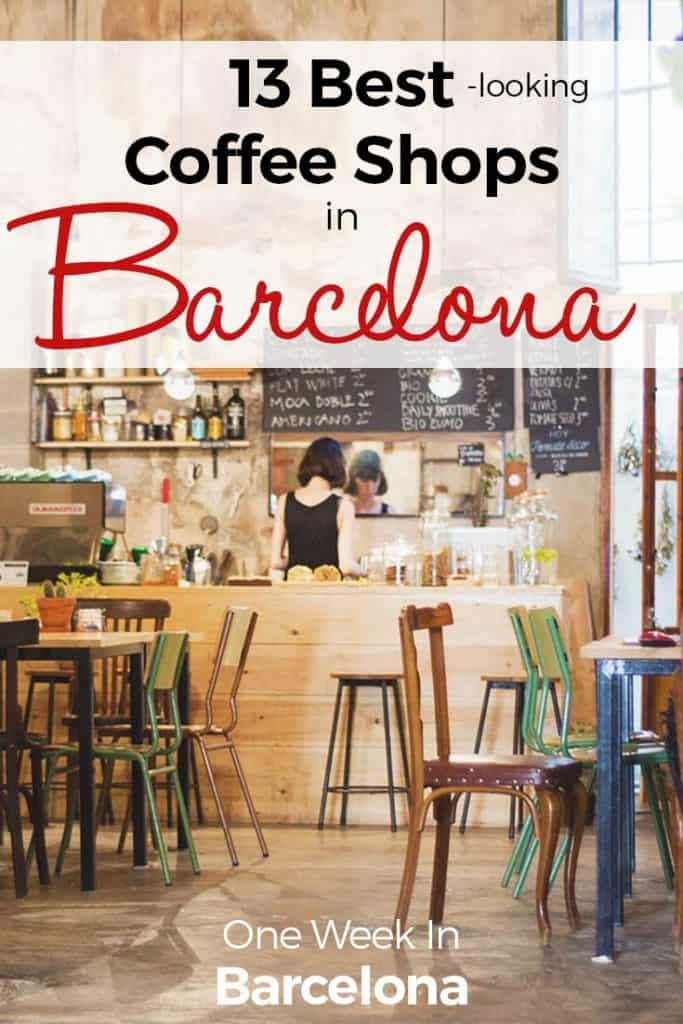 Best coffee shops Barcelona - ultimate List