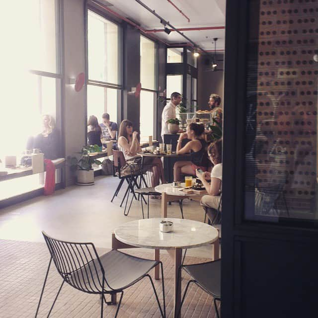 Hipster café in Barcelona: Federal Café in Gothic Quarter