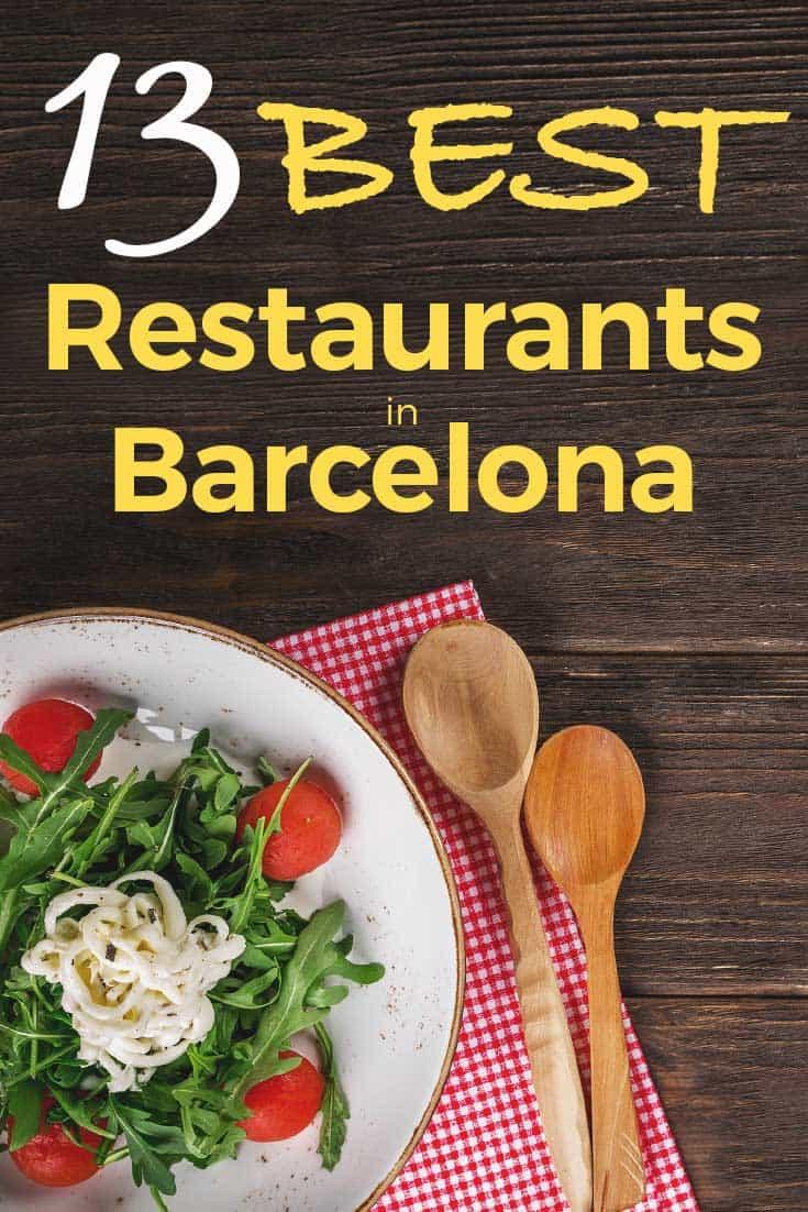 Best restaurants in Barcelona to eat like a king