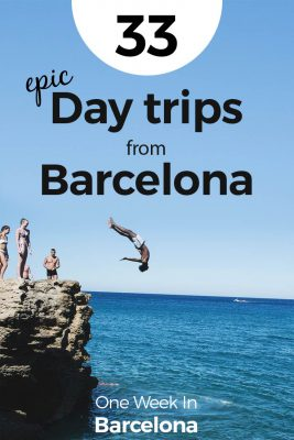 33 EPIC Day Trips from Barcelona - including cliff jumping and hidden beaches
