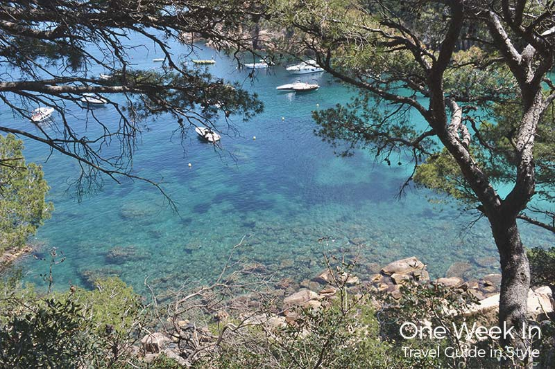 Hidden beach in Costa Brava