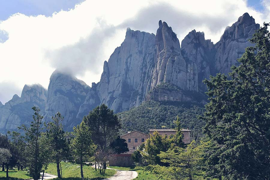 Enjoy nature in Montserrat Monastery