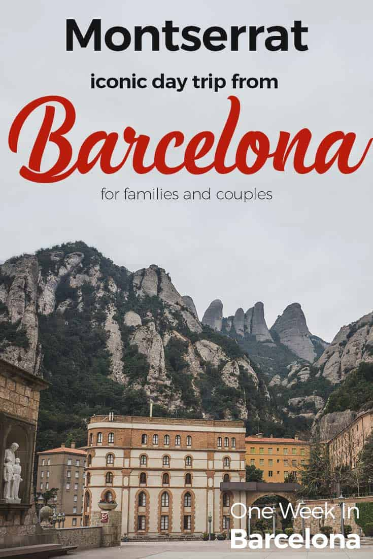 Carte Barcelone Montserrat.How To Get To Montserrat Monastery Barcelona All Options What To
