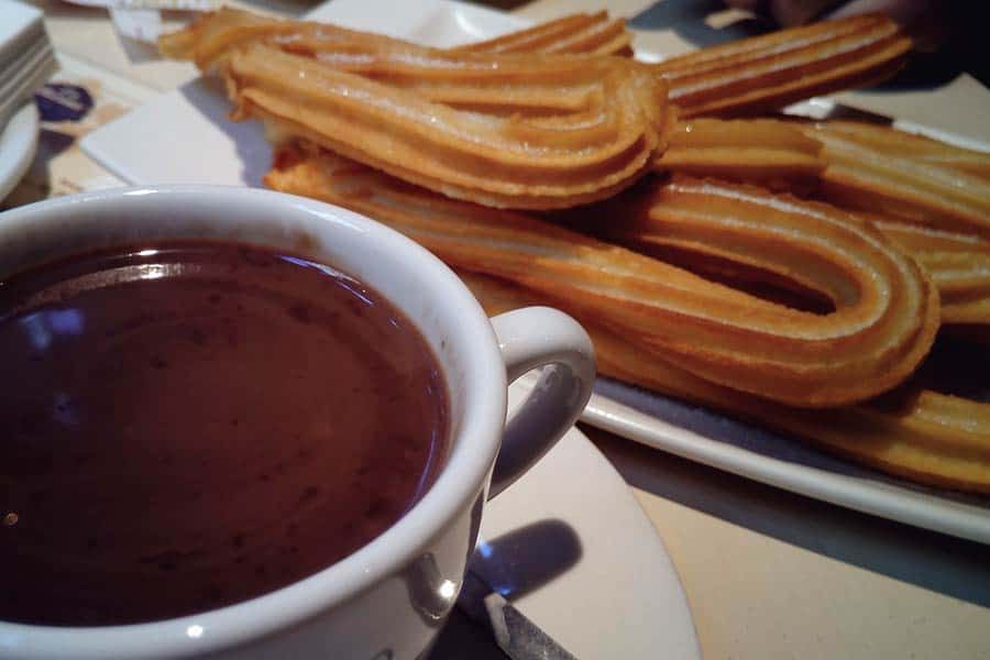 Enjoy chocolate con churros