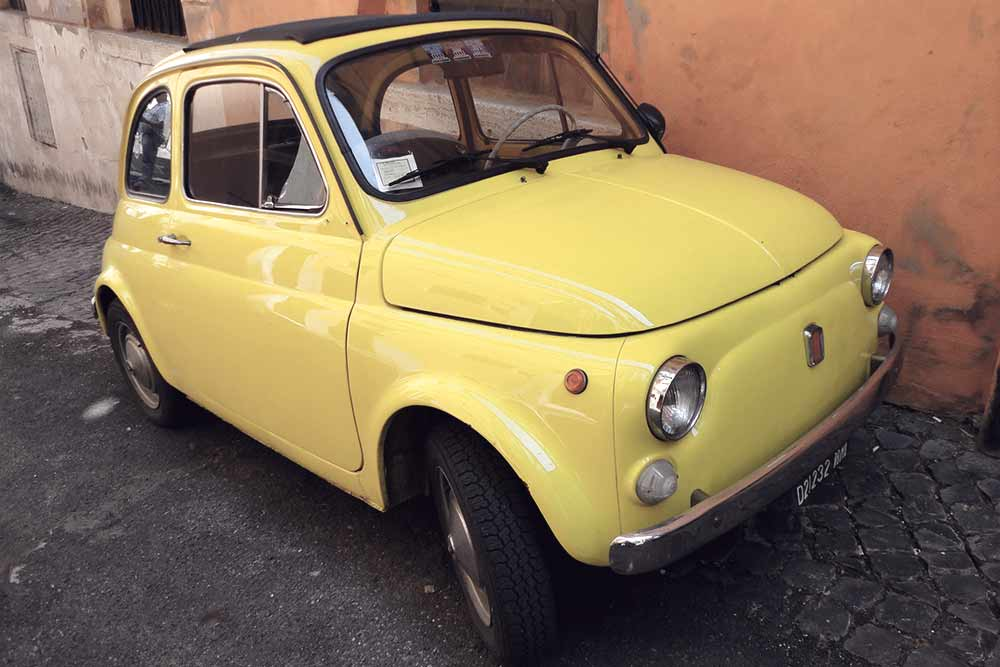 Wanna drive around Rome with a Fiat 500?Fun things to do in Rome