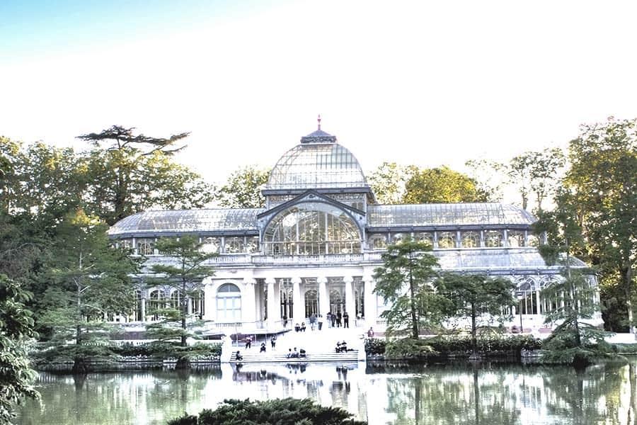 Magic crystal palace Madrid