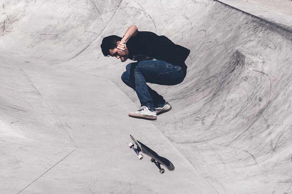 Have fun skate boarding park rome