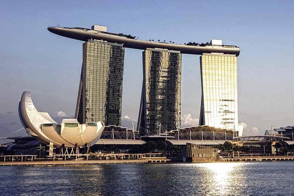 Luxury time at Marina Bay Singapore