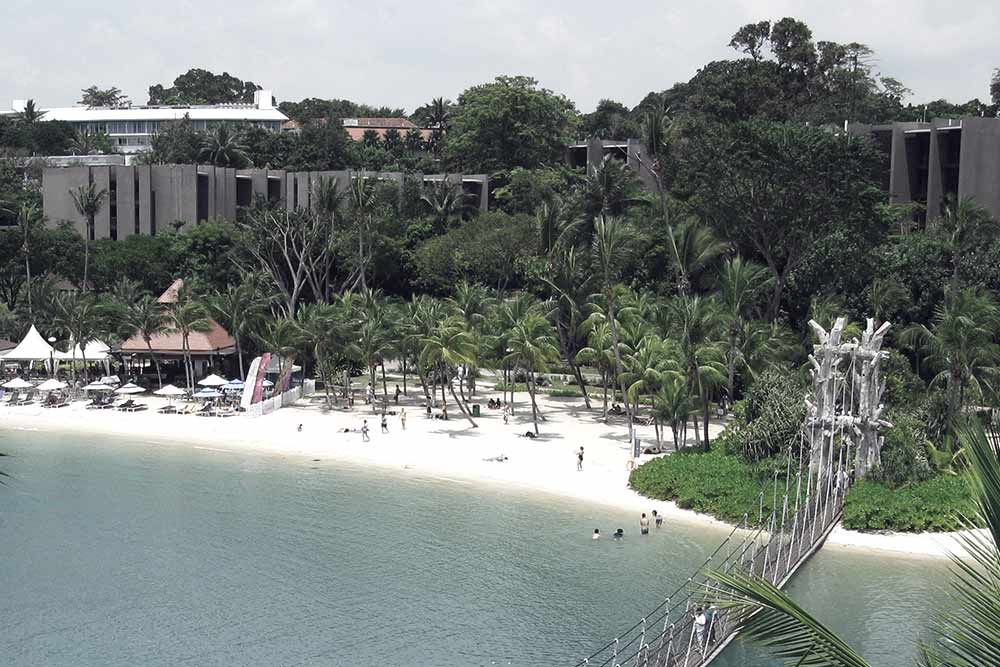 Sentosa Island, will you find peace and tranquility?