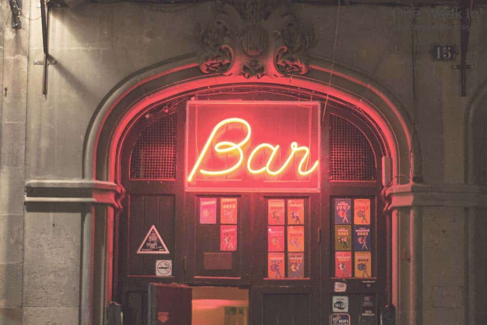 Bar in Barcelona