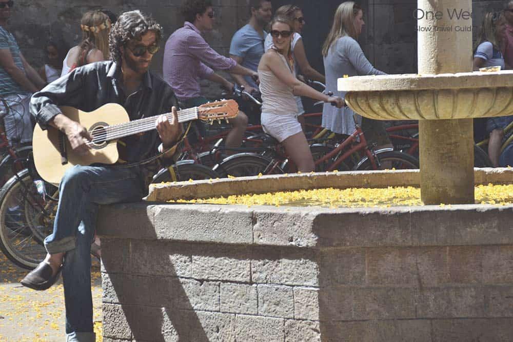 Street Music around Barcelona