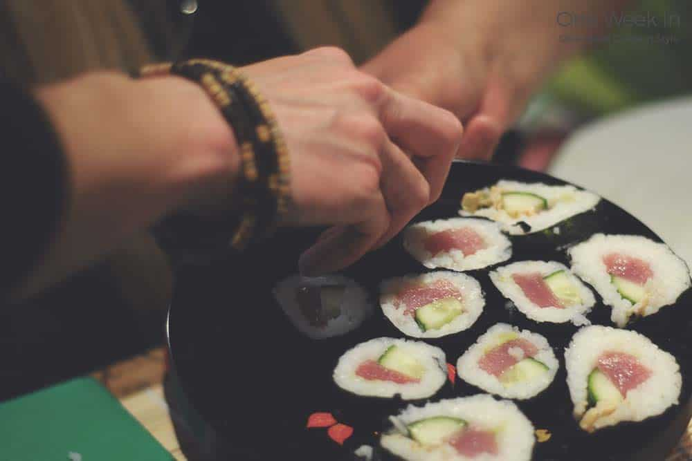 Learn how to cook sushi