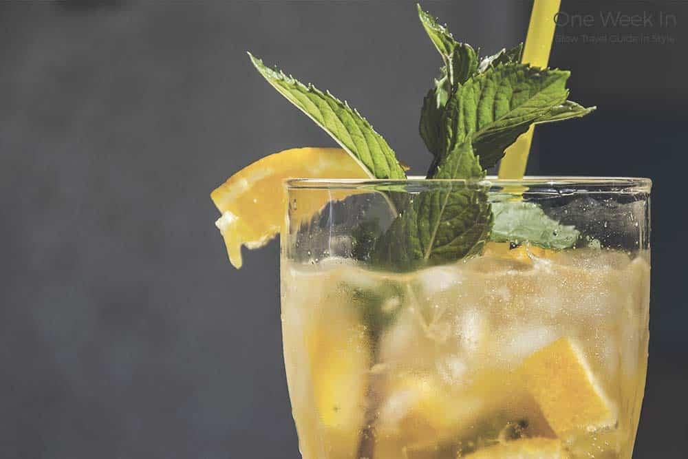 Cocktail in Barcelona