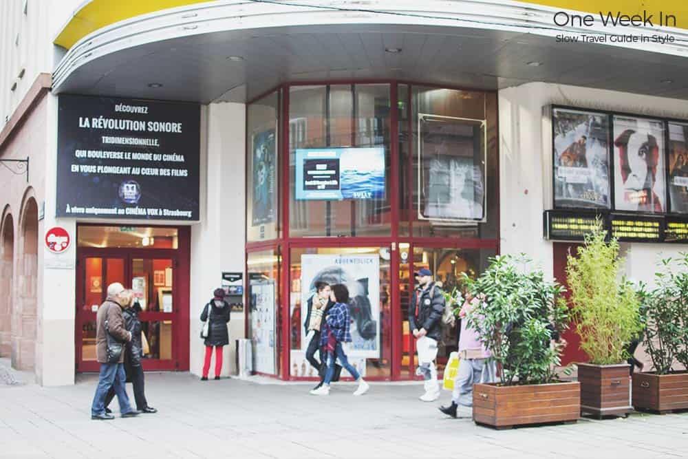 Old cinema Strasbourg