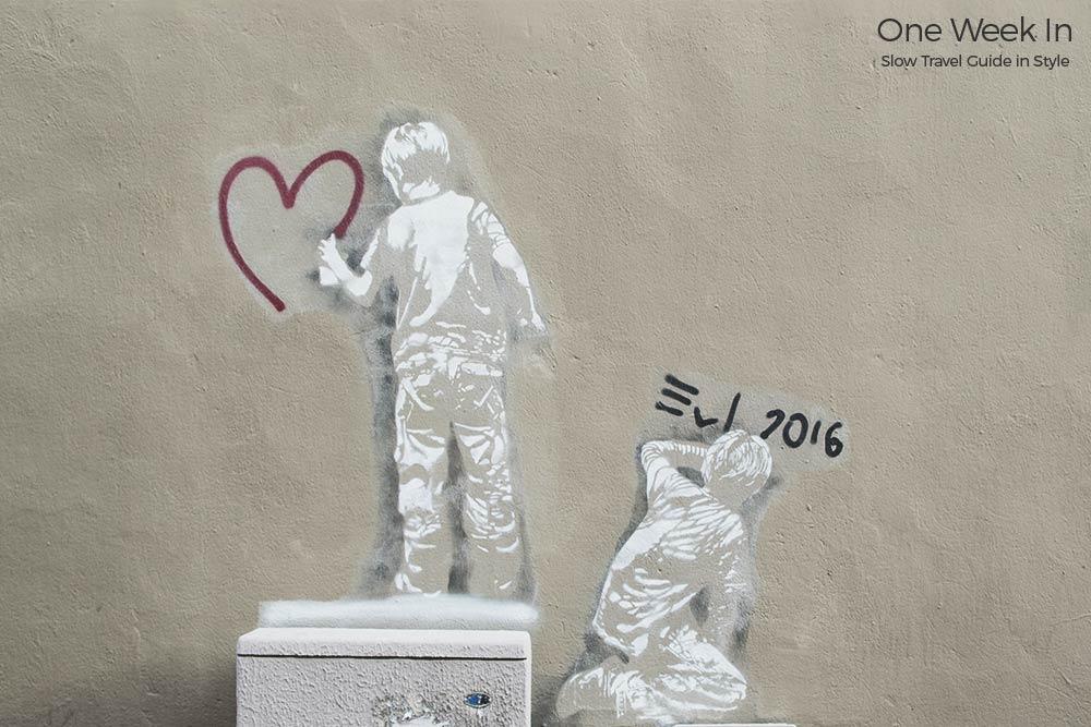 Street art around Strasbourg