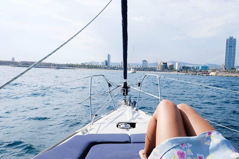 Barcelona Sailing Boat