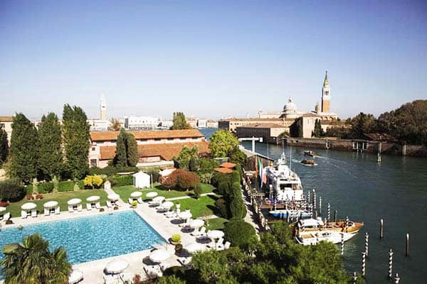 Belmond Hotel Cipriani features a big outdoor pool open all year round
