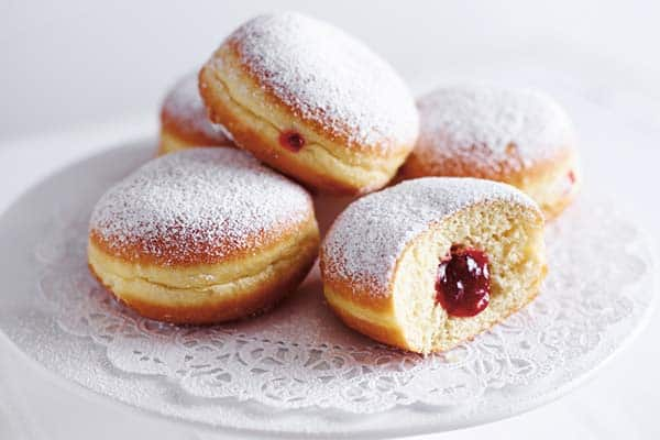 Have a taste of Berlin's famous Berliners which means donuts