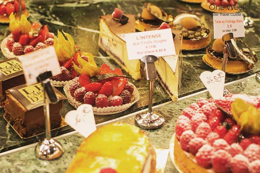 Strasbourg cake selection