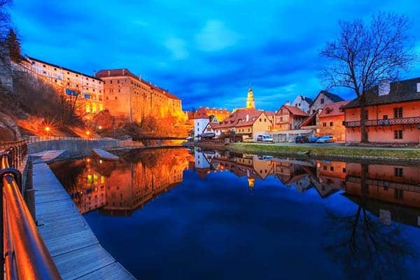 Lying on the banks of the Vltava River is the magical and enchanted place of Český Krumlov