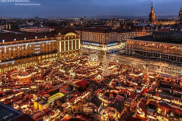 When visiting on December, don't miss visiting the Christmas Market at Strasbourg