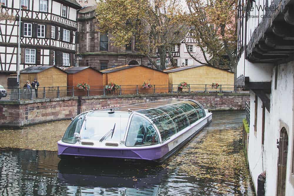 enjoy a cruise in Strasbourg