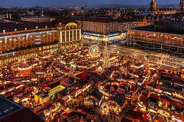 Appreciate more of the magical town of Dresden in the winter