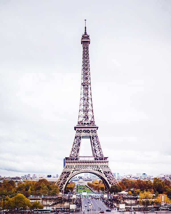 Admire the Eiffel Tower