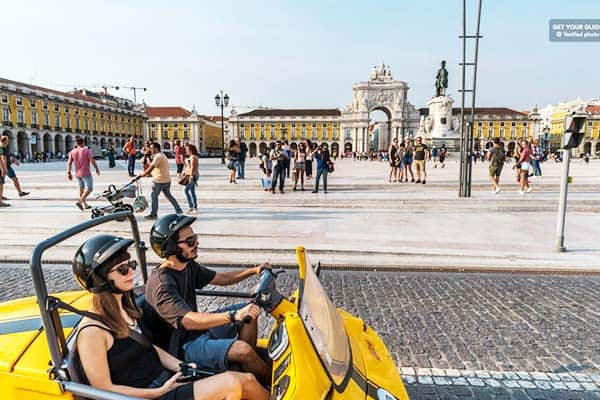 Step your game up and tour Lisbon on a gocart