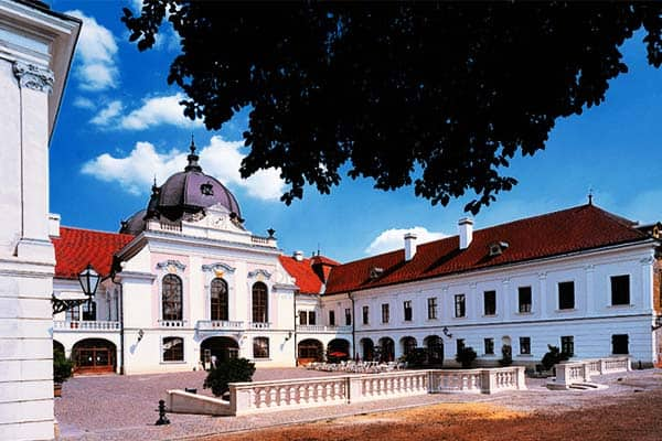 Explore the famous Royal Palace on your trip to Gödöllő from Budapest