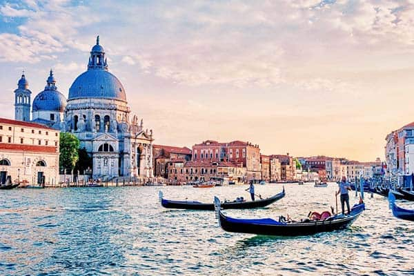 A must-do in your bucket list in Venice is to ride a gondola