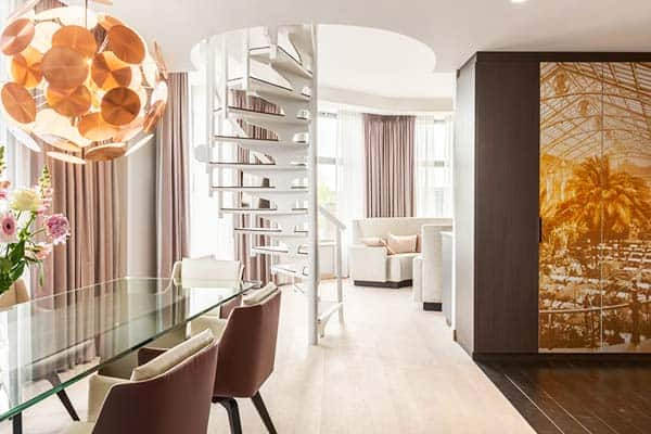 Stay in the 5-star Grand Hotel Amsterdam and be close to the amazing night life