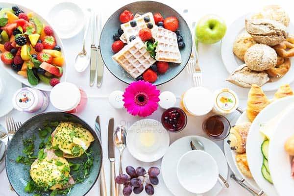 Prepare your appetite at Grand Hyatt's wonderful meals