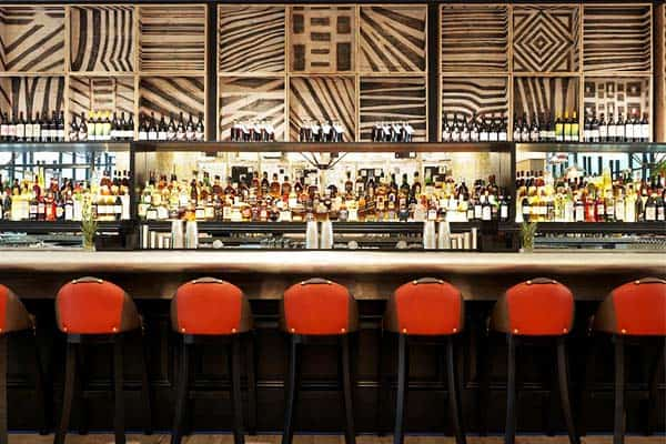 Drink a beer or two and meet new friends at the Ham Yard Hotel's bar