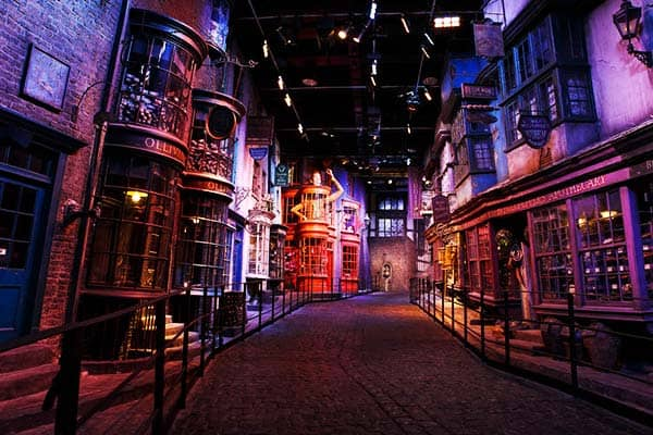 Enter the magical world of Harry Potter during your one weekin London