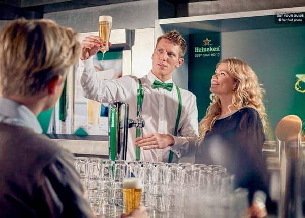 Discover how a Heineken is made in Heineken Experience