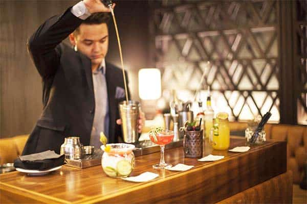 Grab your favorite cocktail and get to meet people at Hilton London Tower Bridge's bar