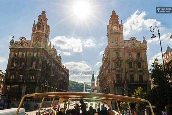 See what Budapest has to offer in the famous Hop-On Hop-Off Bus Tour