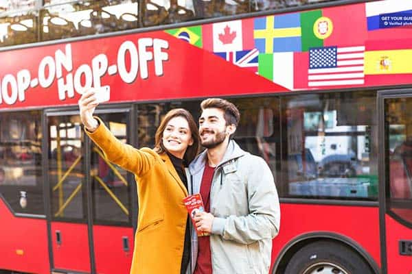 Book a tour on the famous Hop-on Hop-off Bus and see the beauty of Copenhagen