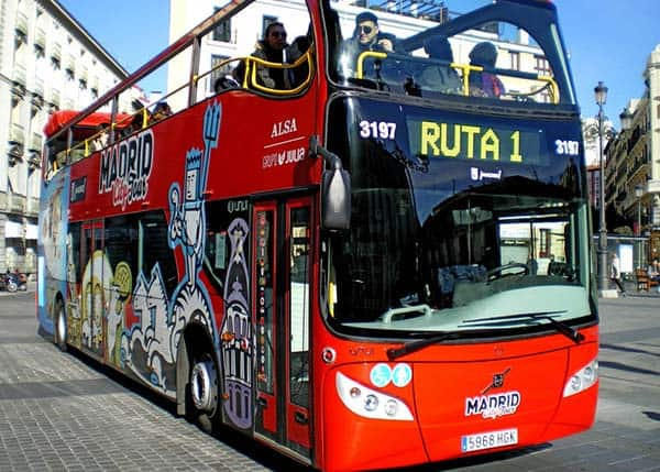 One of the most convenient ways to see the city is through the Hop on Hop Off Bus Tour Madrid