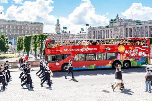 Hop-on Hop-off Bus Stockholm