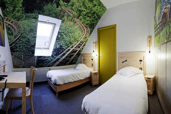 Rooms at Hotel Graffalgar are uniquely designed by local artists