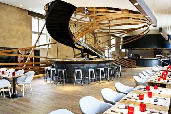 Appreciate French cuisine at Hotel Les Haras' Restaurant, La Brasserie Les Haras