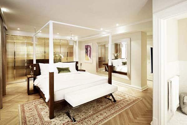 Rooms are designed uniquely at Hotel Sans Souci Wien