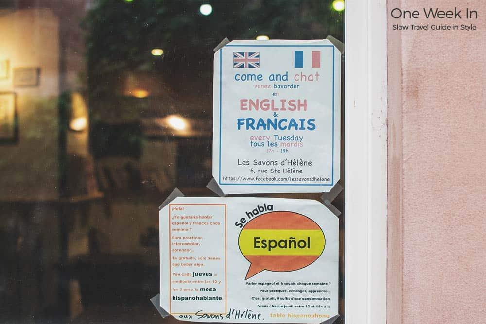 Language exchange Strasbourg