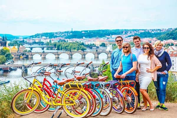 Be amazed and amazing photos with Prague's Letna Park River views