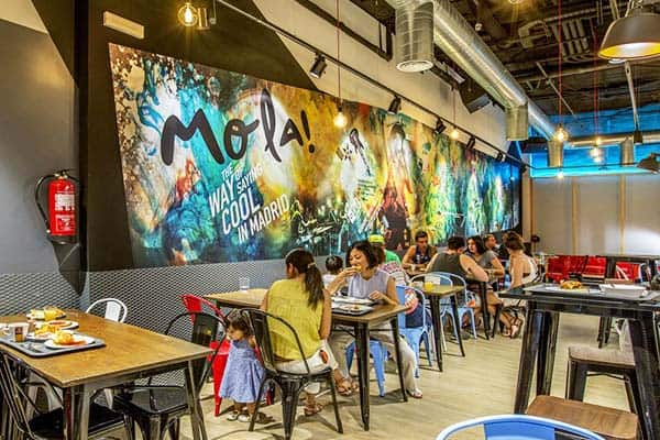 Great for group travelers is MOLA Hostel