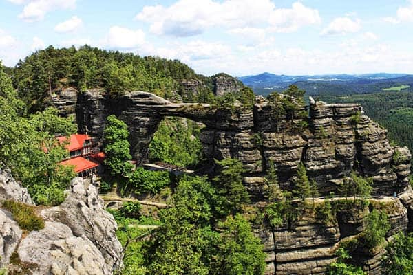 Bring the nature lover in you at the National Park Bohemian Switzerland
